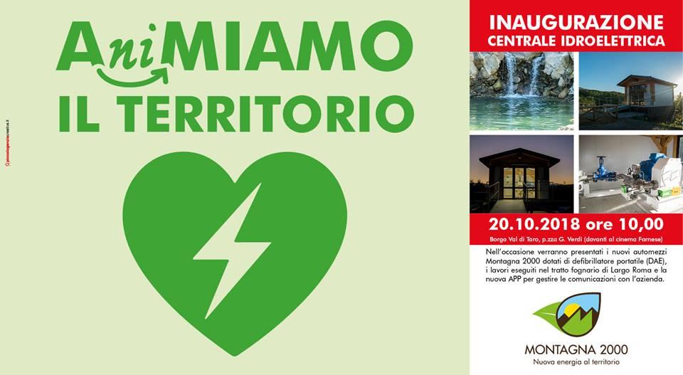 Inaugurazione centrale idroelettrica Nola – Frasso