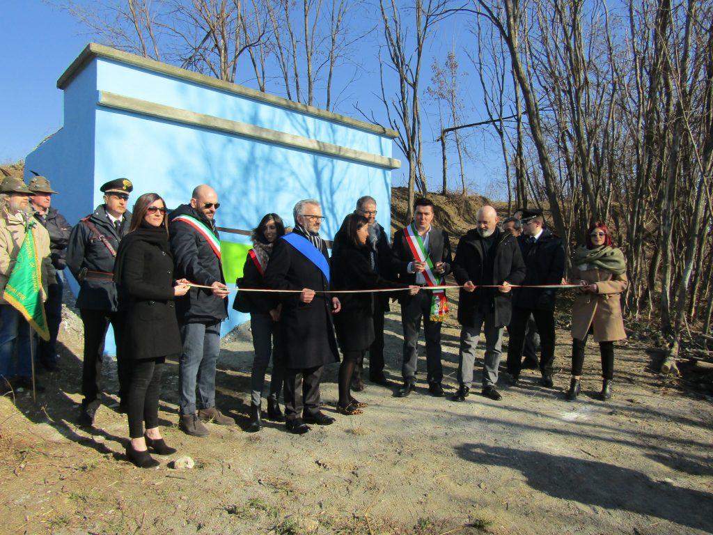 Visita del Presidente della Regione Emilia Romagna a Pellegrino Parmense per l'inaugurazione di importanti opere acquedottistiche