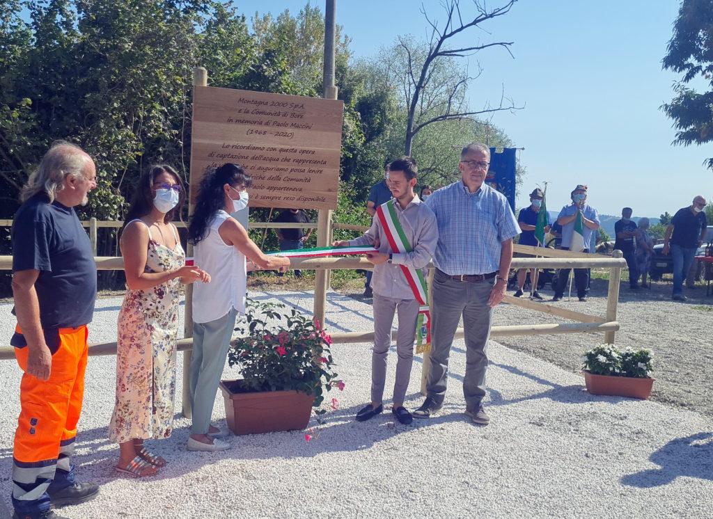 Montagna 2000 inaugura un nuovo pozzo per la captazione nel Comune di Bore